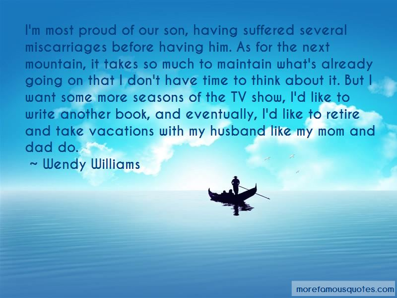 My Husband Is Proud Of Me Quotes