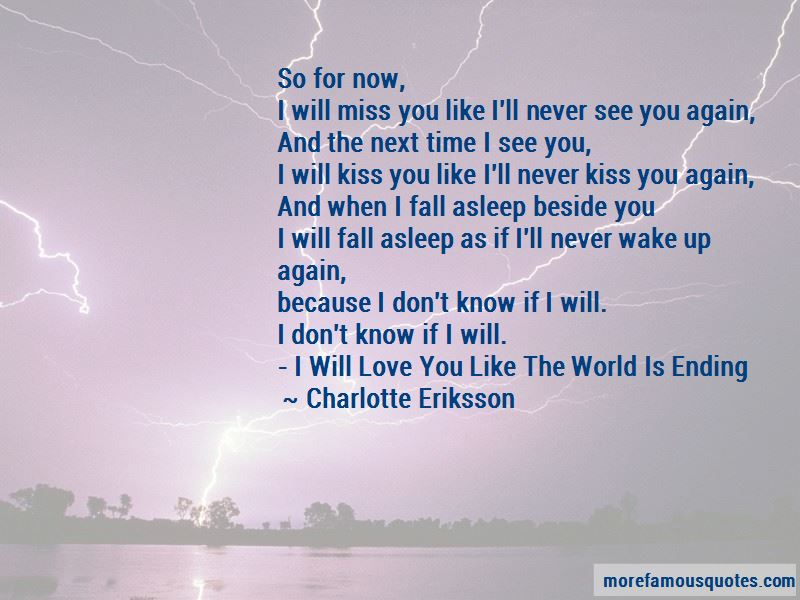 My Love Is Never Ending Quotes
