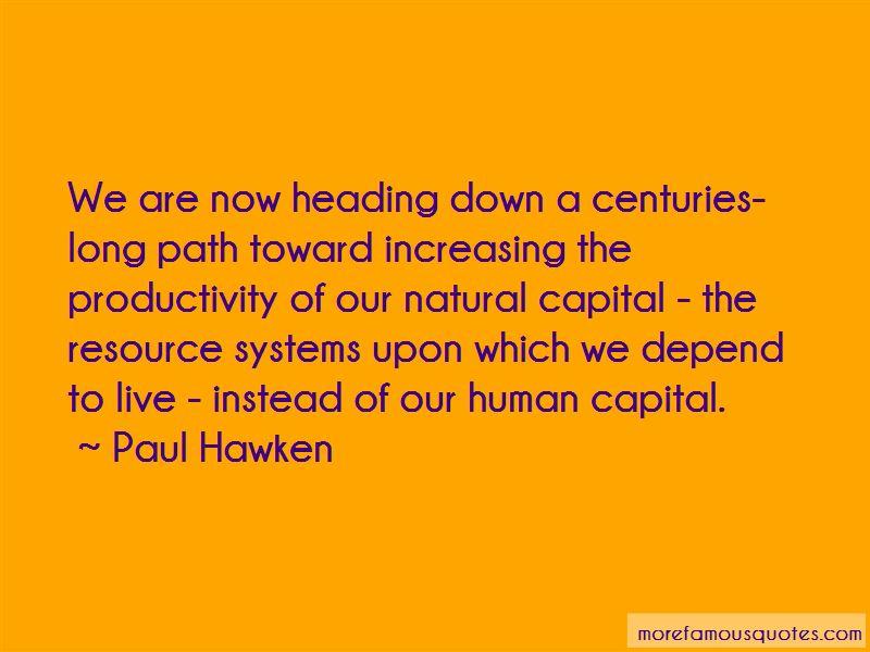 Natural Capital Quotes