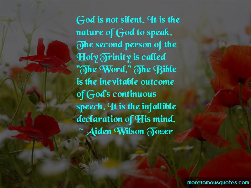 Nature Of God And The Trinity Quotes Pictures 3