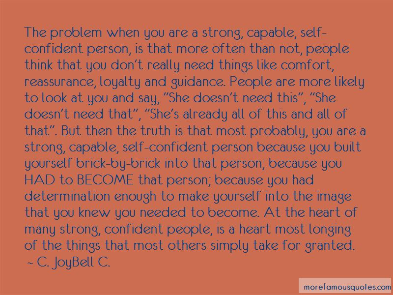 Not As Strong As You Think Quotes Pictures 4