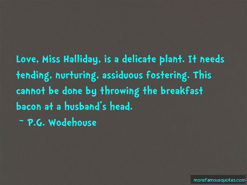 Nurturing Plant Quotes