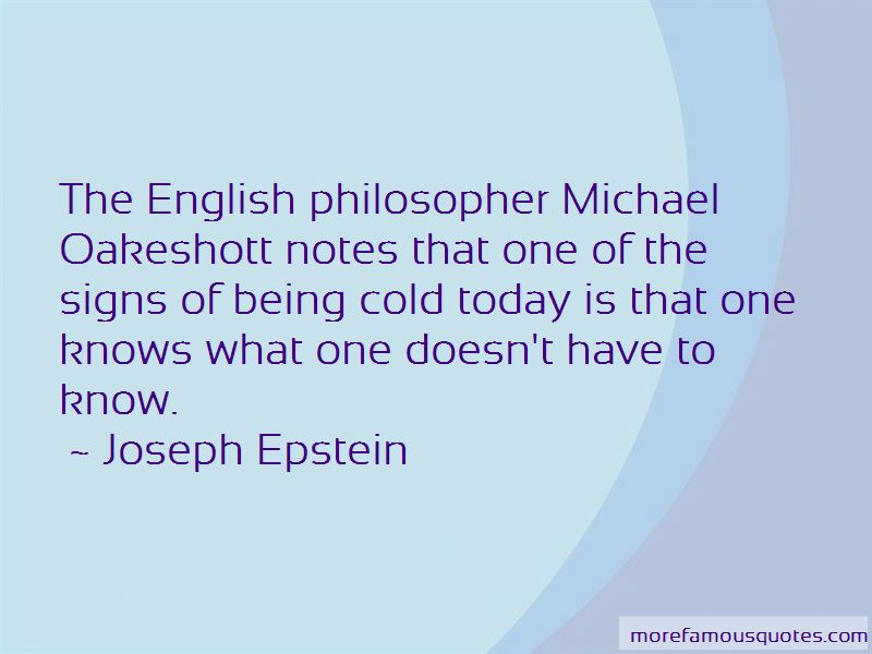 Oakeshott Quotes