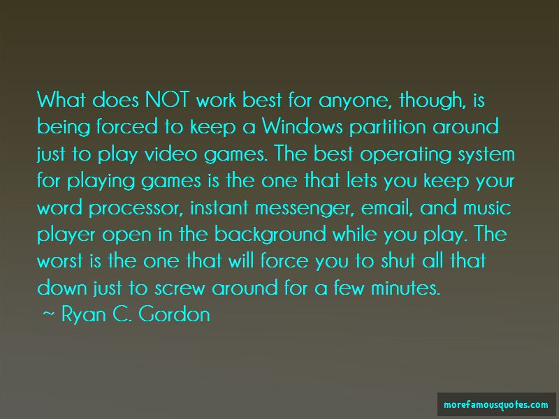 Operating System Quotes