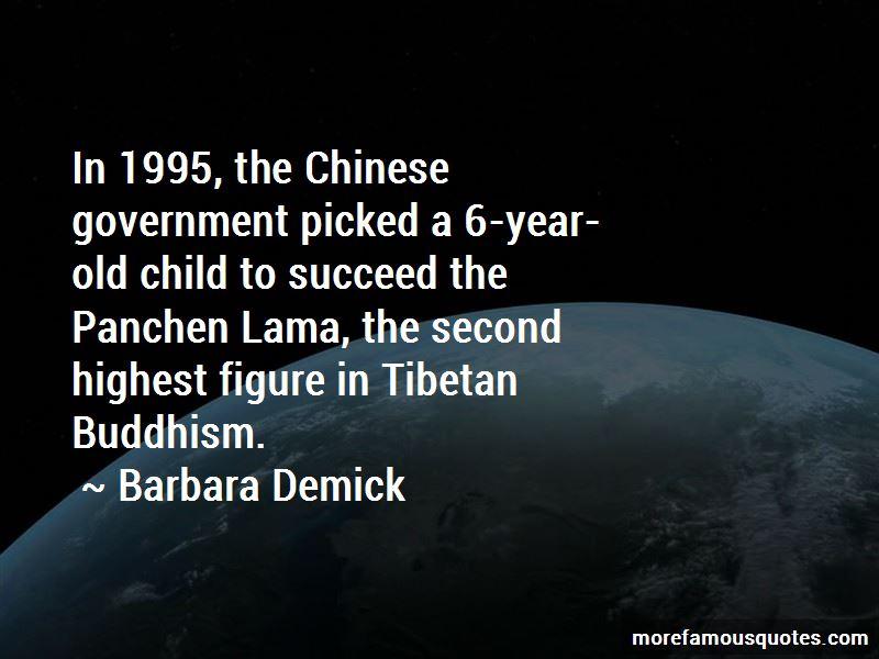 Panchen Lama Quotes