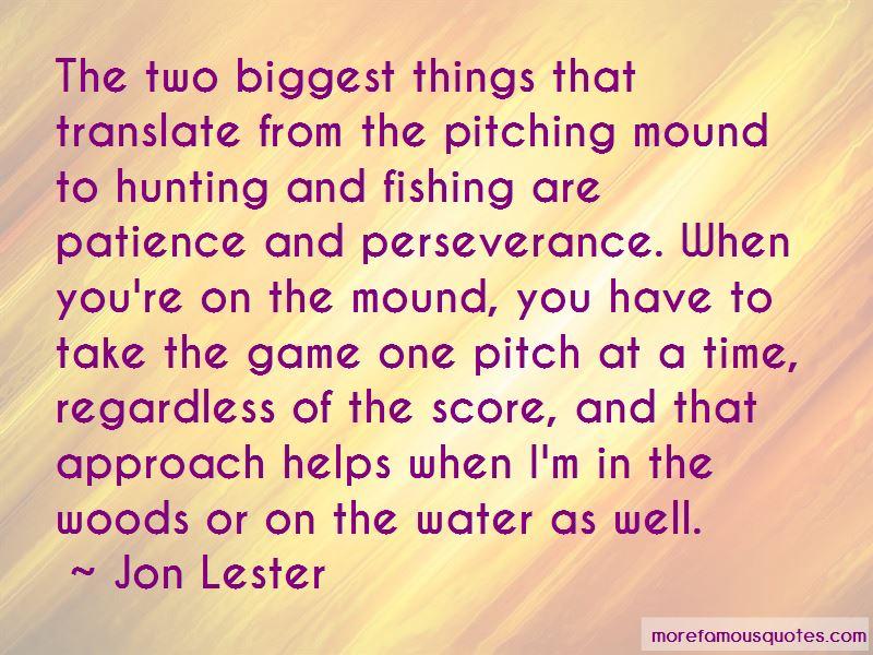 Pitching Mound Quotes