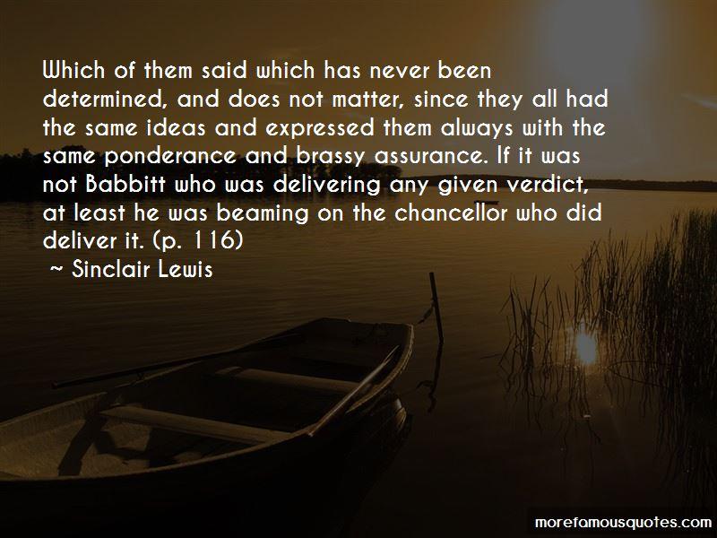 Ponderance Quotes
