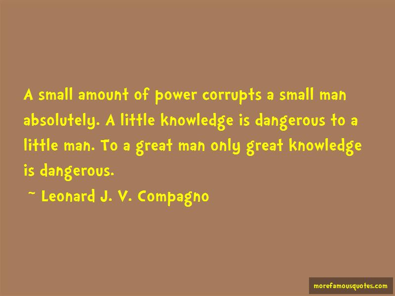 Power Corrupts Man Quotes