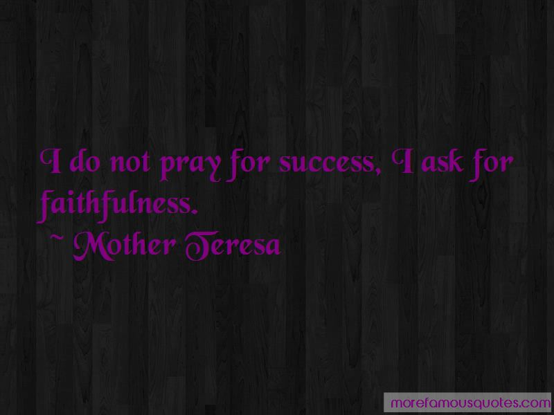 Pray For Success Quotes