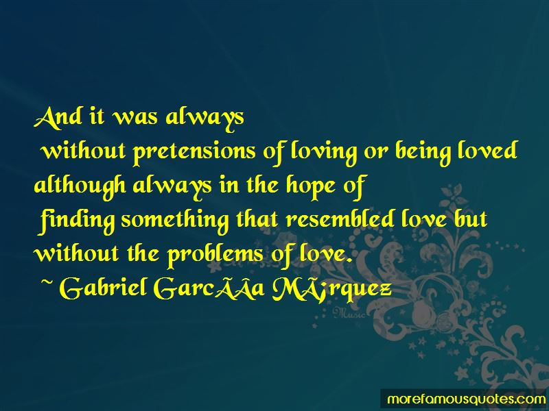 Problems Of Love Quotes