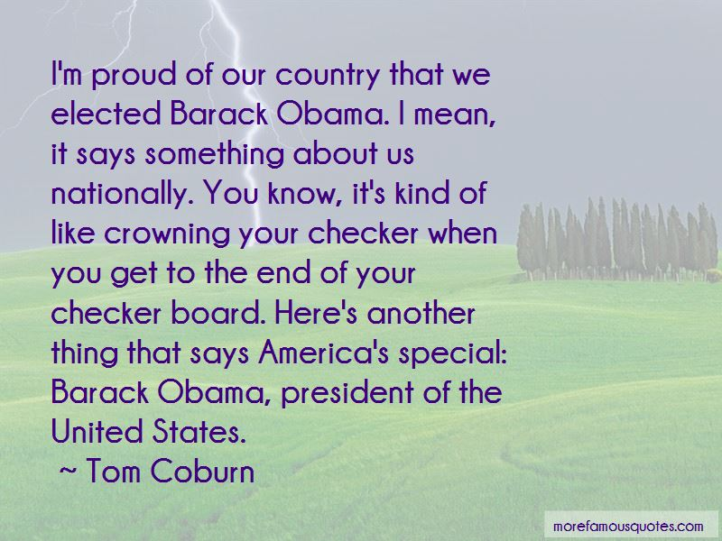 Proud Of Our Country Quotes