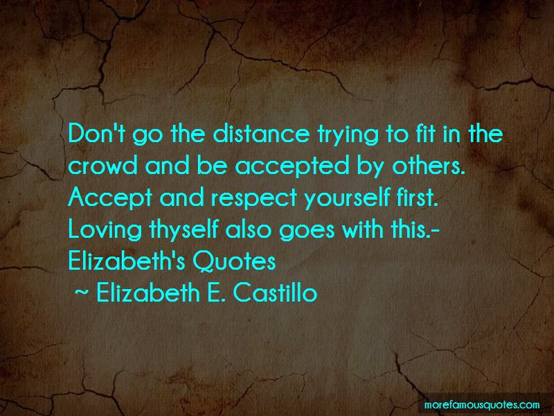 Respect Yourself First Quotes