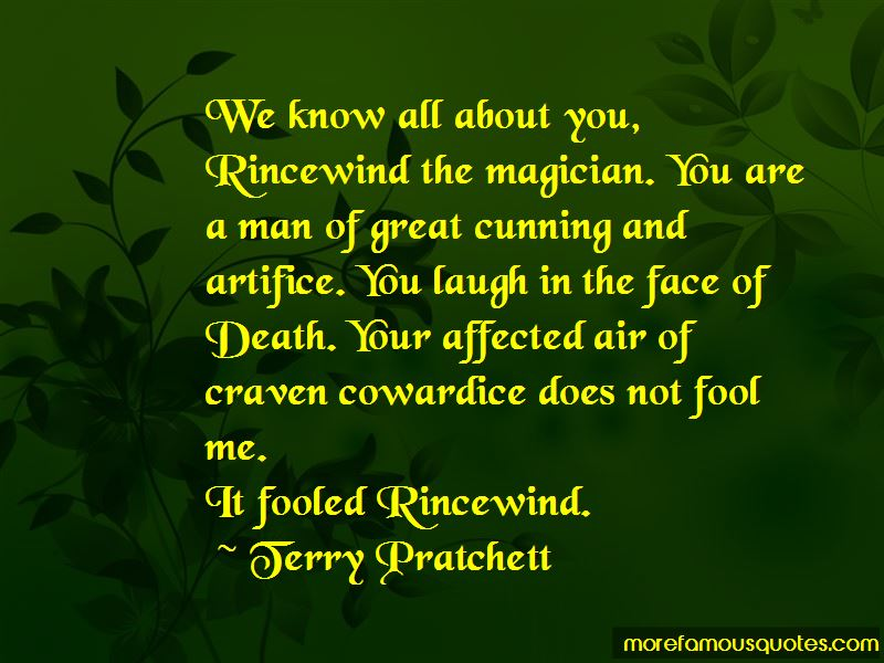 Rincewind Death Quotes