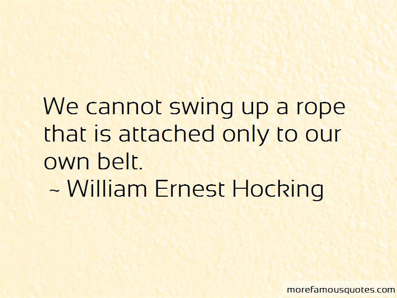 Rope Swing Quotes