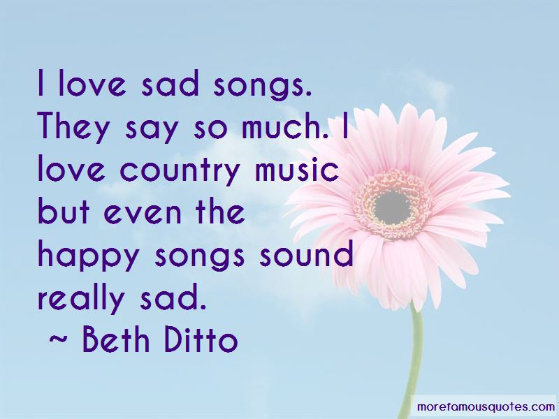Sad Country Music Quotes: top 12 quotes about Sad Country ...