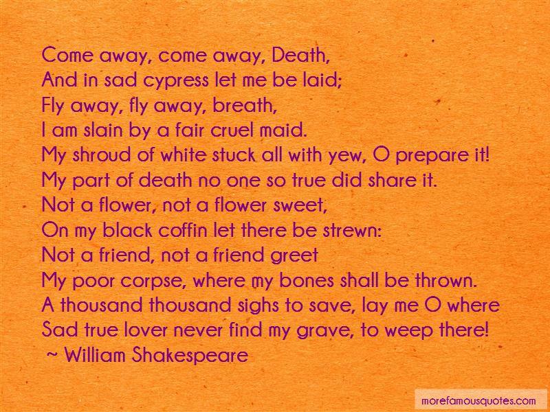 Sad Cypress Quotes