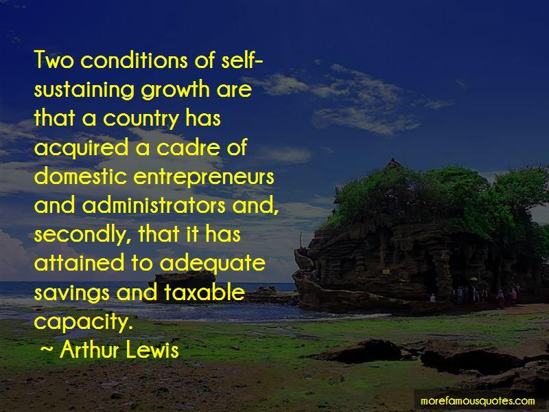 Self Sustaining Quotes