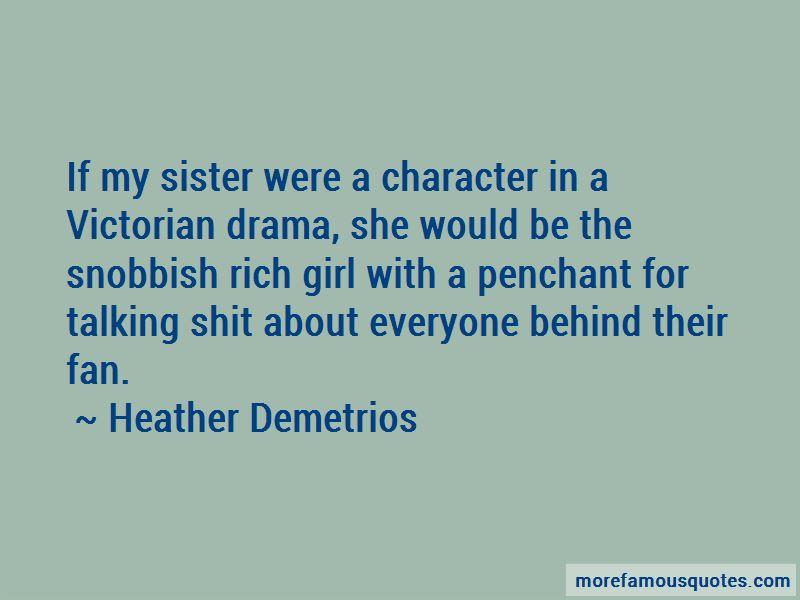 Snobbish Girl Quotes