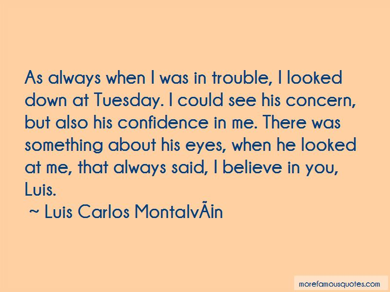 Something About His Eyes Quotes
