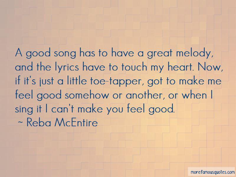 Song Lyrics Make Good Quotes