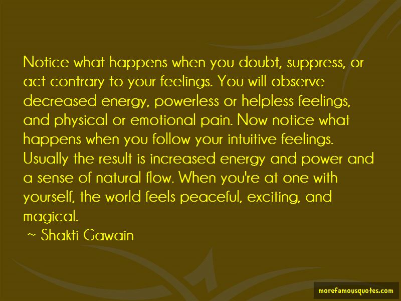 Suppress Feelings Quotes