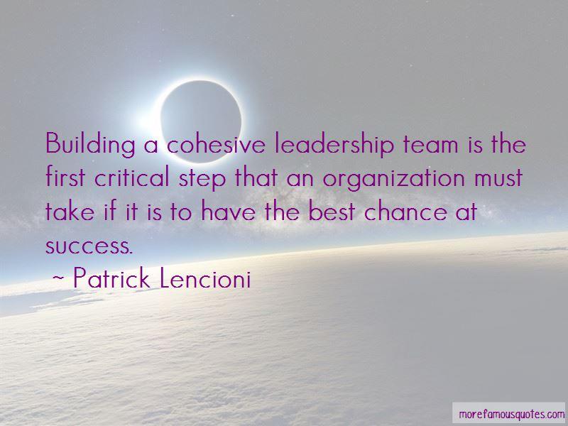 Team Building Success Quotes