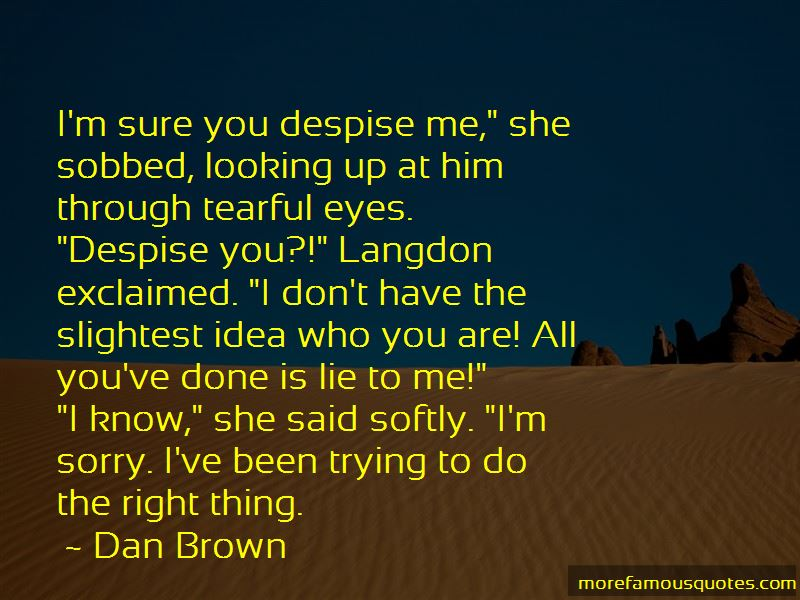 Tearful Eyes Quotes