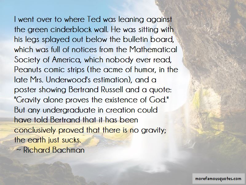 Ted Humor Quotes