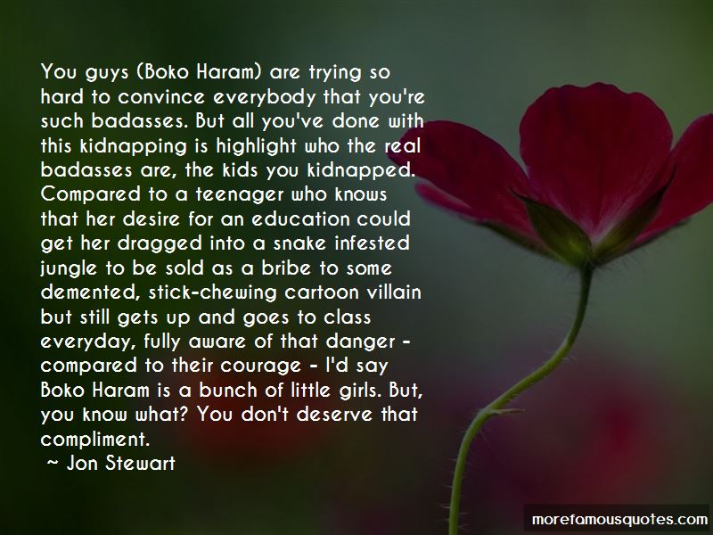 That What You Deserve Quotes