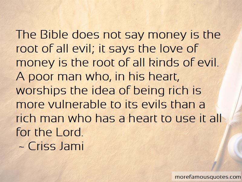 The Love Of Money Bible Quotes: Top 5 Quotes About The