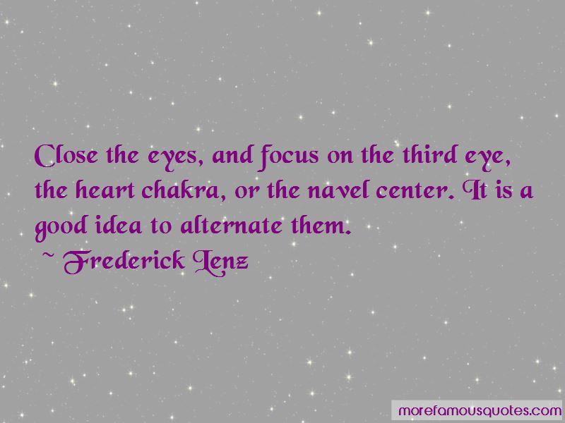 Third Eye Chakra Quotes