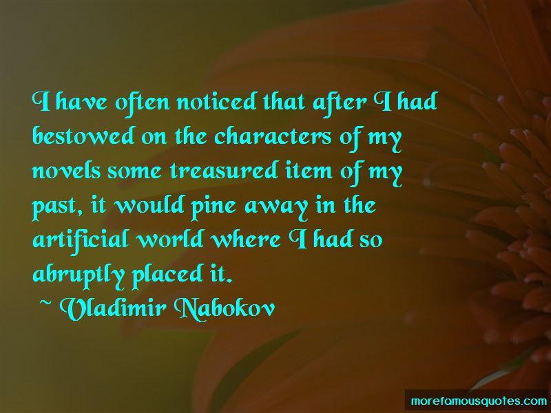 Treasured Item Quotes