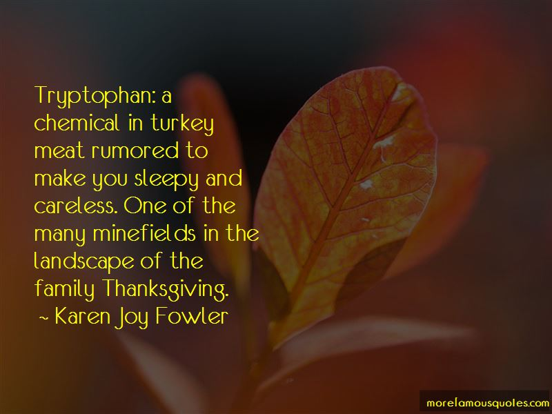 Tryptophan Quotes