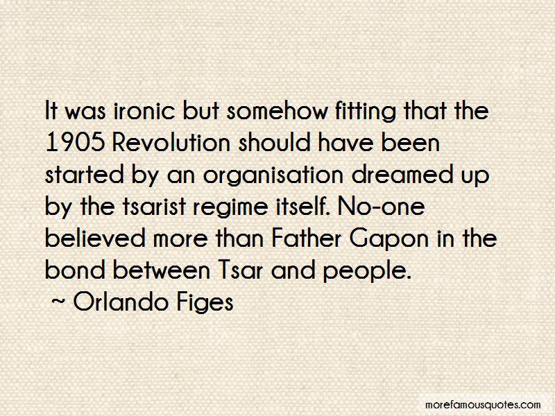 Tsarist Regime Quotes