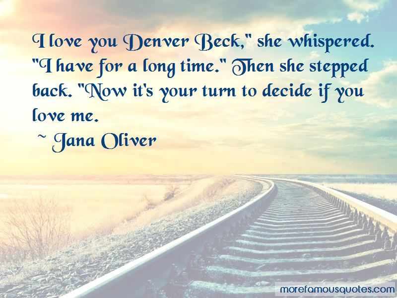 Turn Back Love Quotes