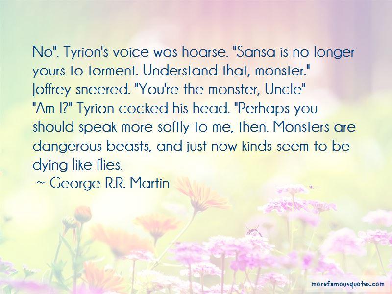 Tyrion Sansa Quotes