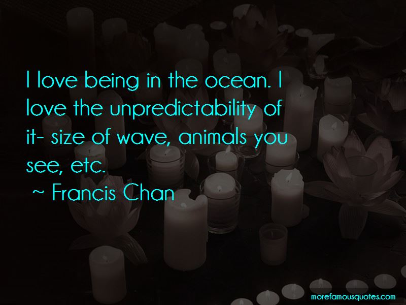 Unpredictability Of Love Quotes