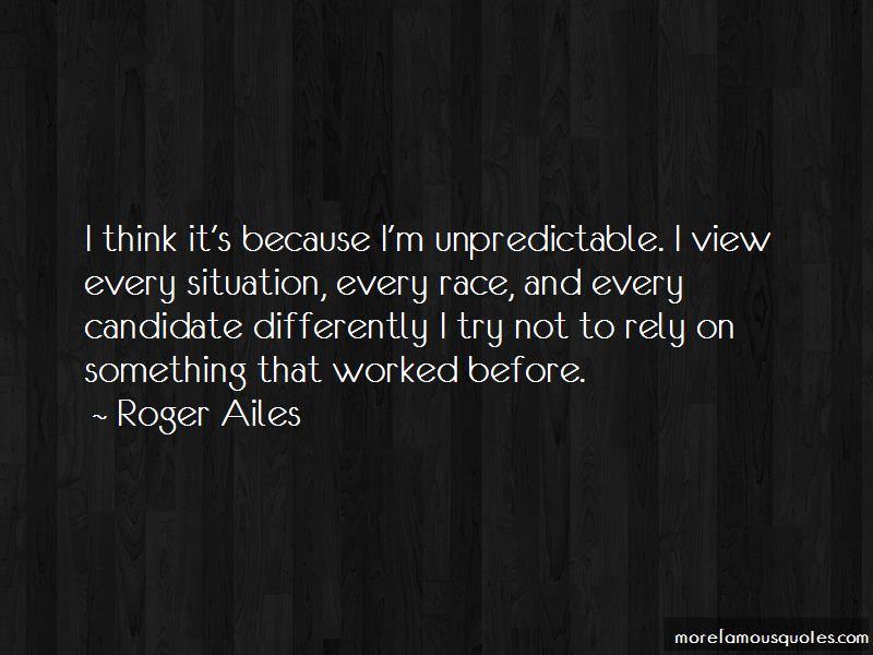 Unpredictable Quotes
