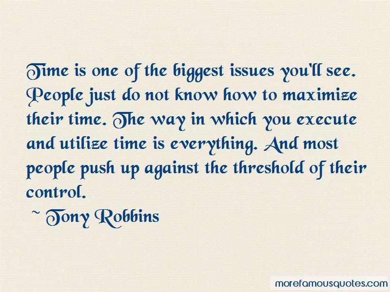 Utilize Time Quotes