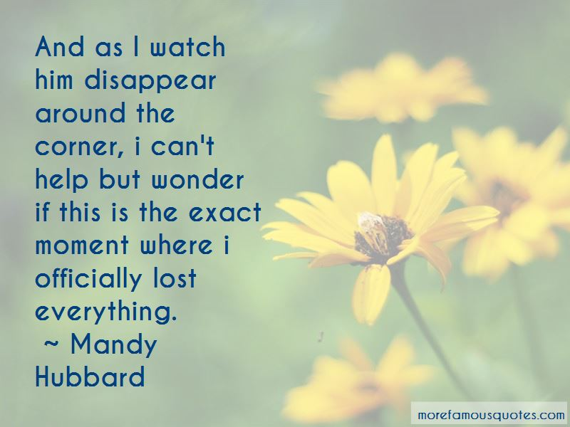 Watch Me Disappear Quotes Pictures 2