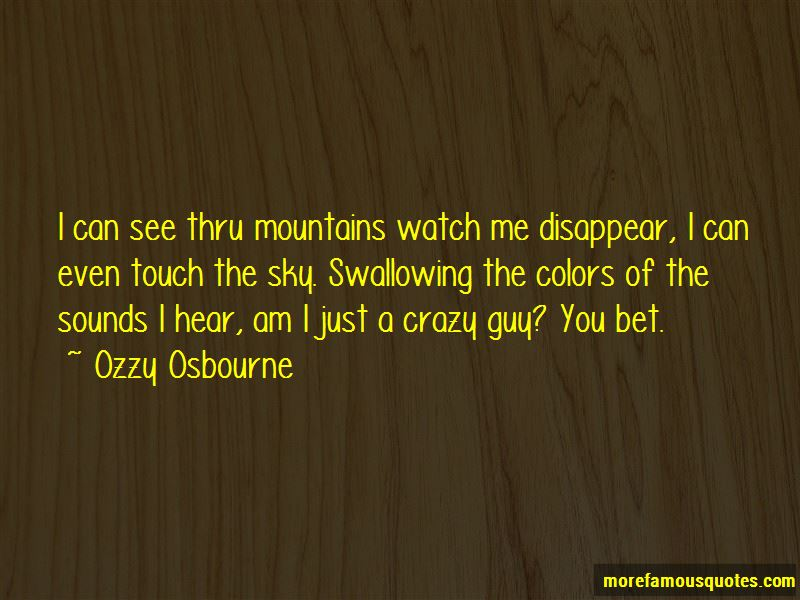 Watch Me Disappear Quotes