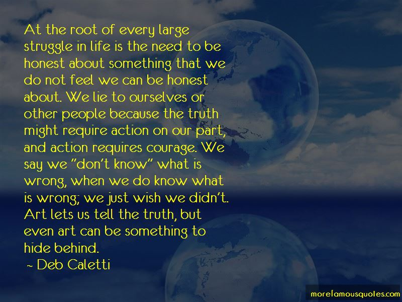 We Lie To Ourselves Quotes