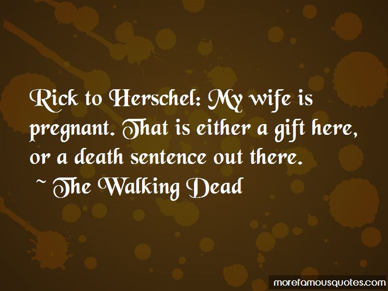 Wife Is Pregnant Quotes