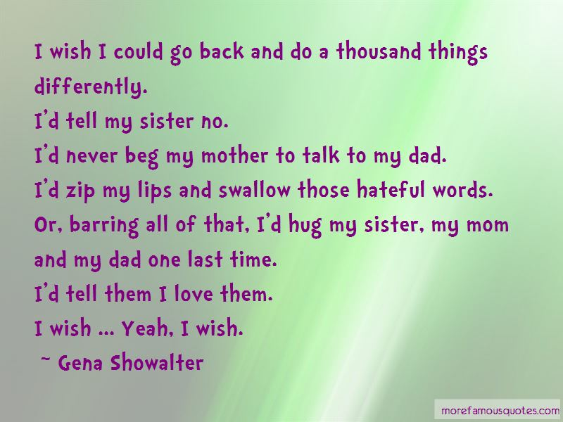 Wish We Could Talk Quotes