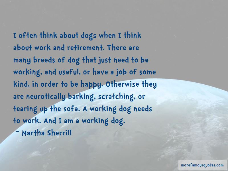Working Dog Quotes