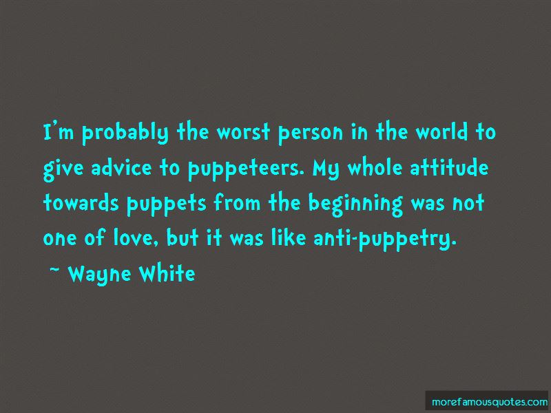 Worst Person In The World Quotes