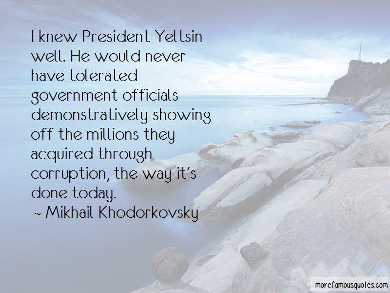 Yeltsin Quotes