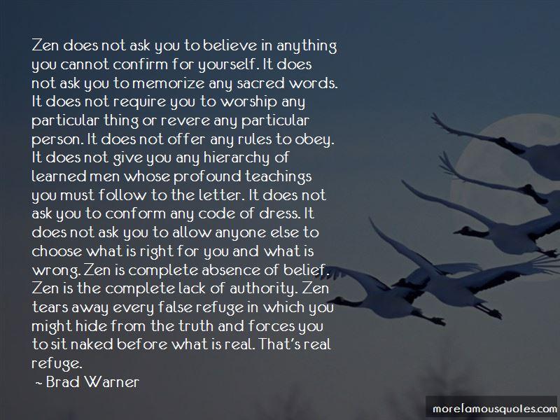 Zen Teachings Quotes