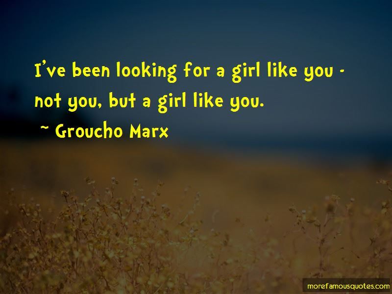 A Girl Like You Quotes