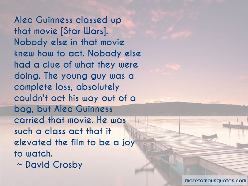 Alec Guinness Movie Quotes